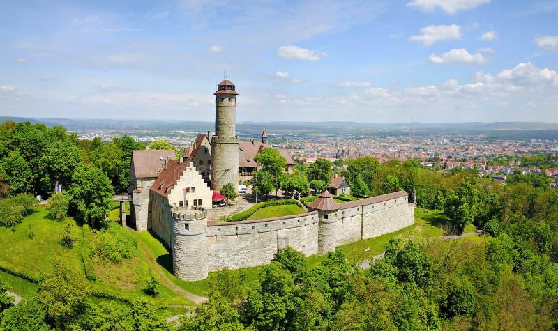 Άλτενμπουργκ Castle κοντά στη Βαμβέργη, Γερμανία στοκ φωτογραφία με δικαίωμα ελεύθερης χρήσης