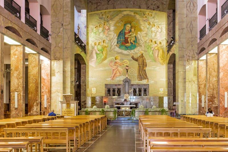 Άδυτο Αγίου Pio Pietrelcina στοκ εικόνα με δικαίωμα ελεύθερης χρήσης
