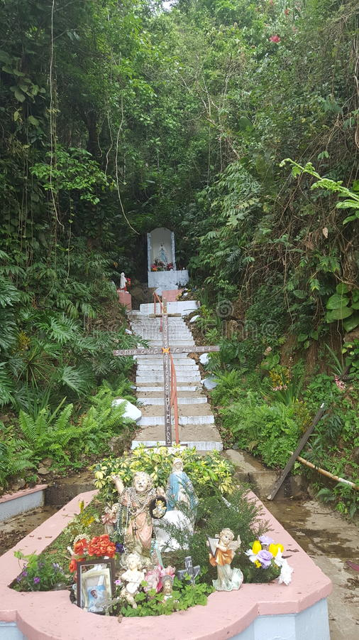 Άδυτο στο Cayey, βουνά του Πουέρτο Ρίκο στοκ φωτογραφία με δικαίωμα ελεύθερης χρήσης