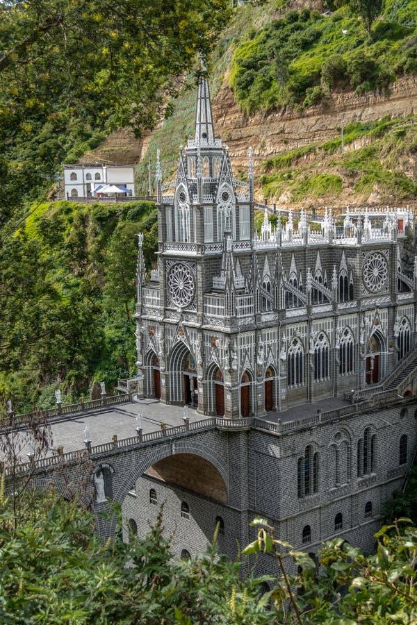 Άδυτο Lajas Las - Ipiales, Κολομβία στοκ φωτογραφία με δικαίωμα ελεύθερης χρήσης