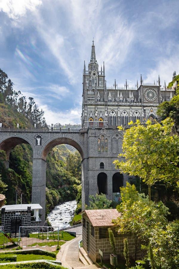 Άδυτο Lajas Las - Ipiales, Κολομβία στοκ φωτογραφίες