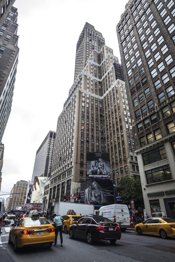 Έβδομη λεωφόρος στην πόλη της Νέας Υόρκης, ΗΠΑ στοκ φωτογραφία