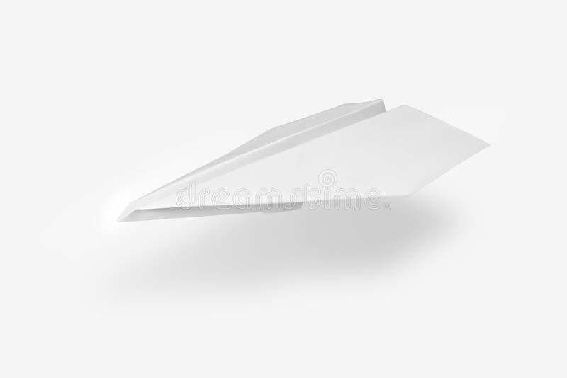 έγγραφο αεροπλάνων στοκ εικόνα