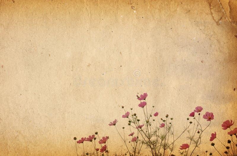 έγγραφο λουλουδιών ελεύθερη απεικόνιση δικαιώματος