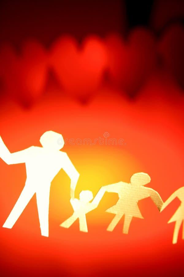 έγγραφο οικογενειακή&sigmaf στοκ εικόνα με δικαίωμα ελεύθερης χρήσης