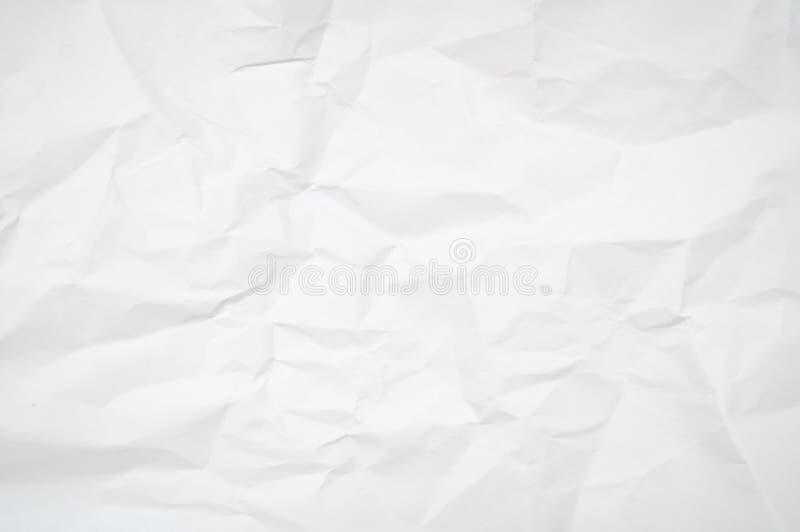 έγγραφο που ζαρώνεται στοκ φωτογραφία με δικαίωμα ελεύθερης χρήσης