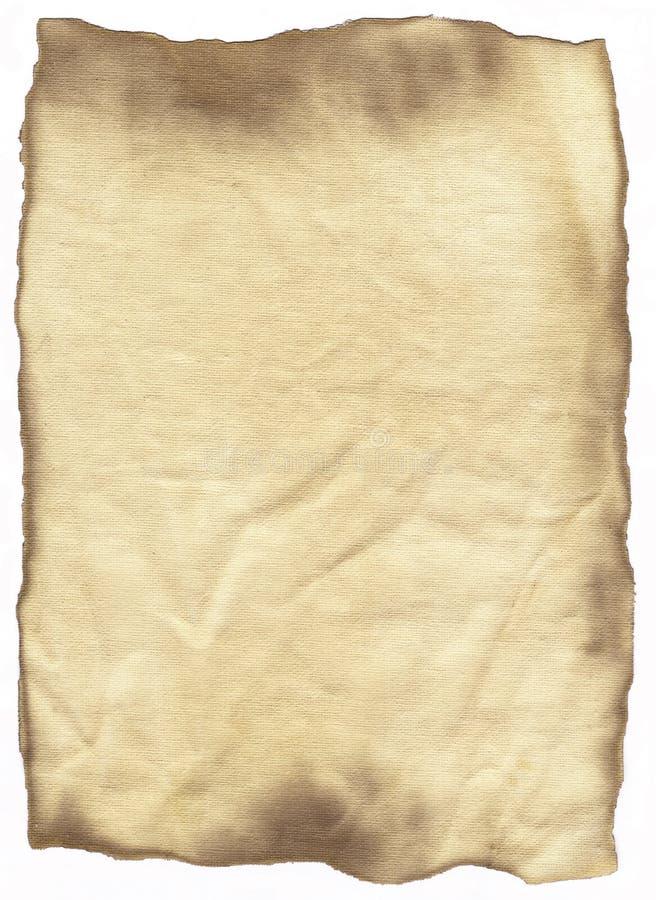 έγγραφο που λεκιάζουν παλαιό στοκ εικόνες