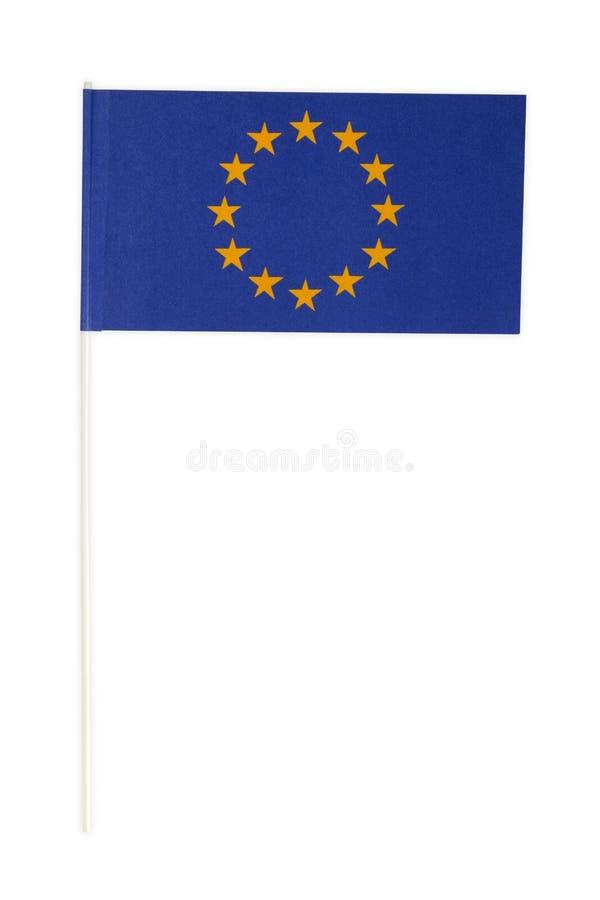 Έγγραφο σημαιών της Ευρώπης στοκ εικόνες