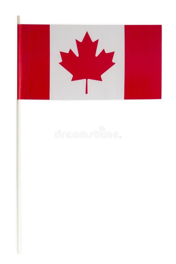 Έγγραφο σημαιών του Καναδά στοκ εικόνες