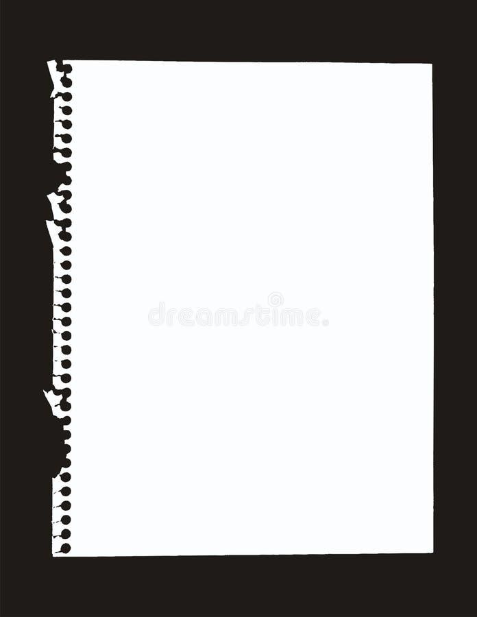 έγγραφο σημειωματάριων ελεύθερη απεικόνιση δικαιώματος
