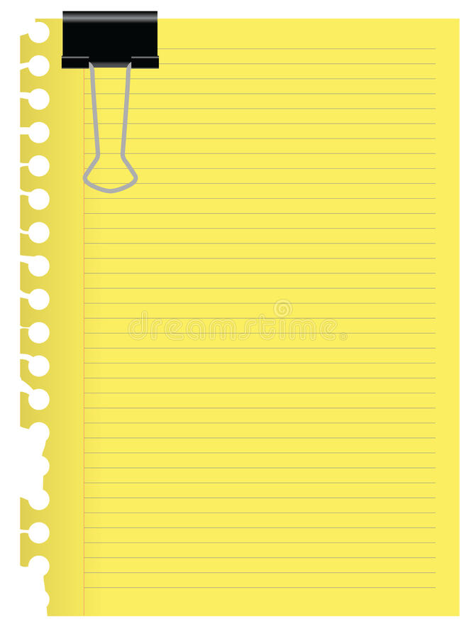 έγγραφο σημειώσεων ελεύθερη απεικόνιση δικαιώματος