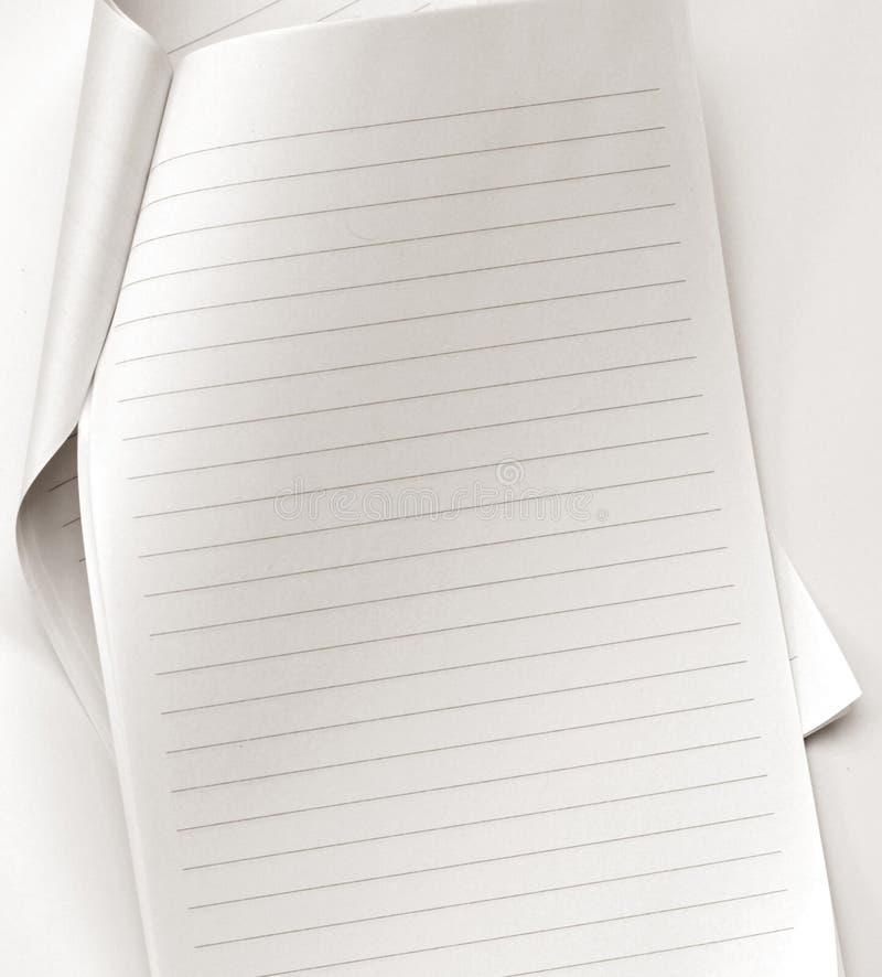 έγγραφο σημειώσεων στοκ εικόνα με δικαίωμα ελεύθερης χρήσης