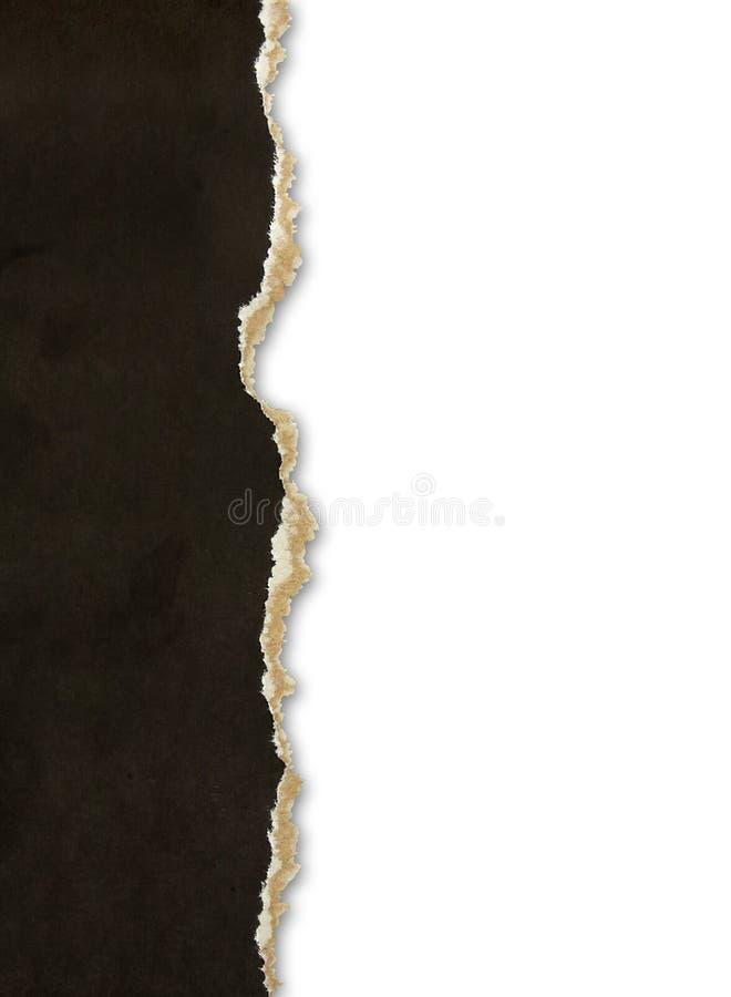 έγγραφο συνόρων που σχίζ&epsilon στοκ εικόνα