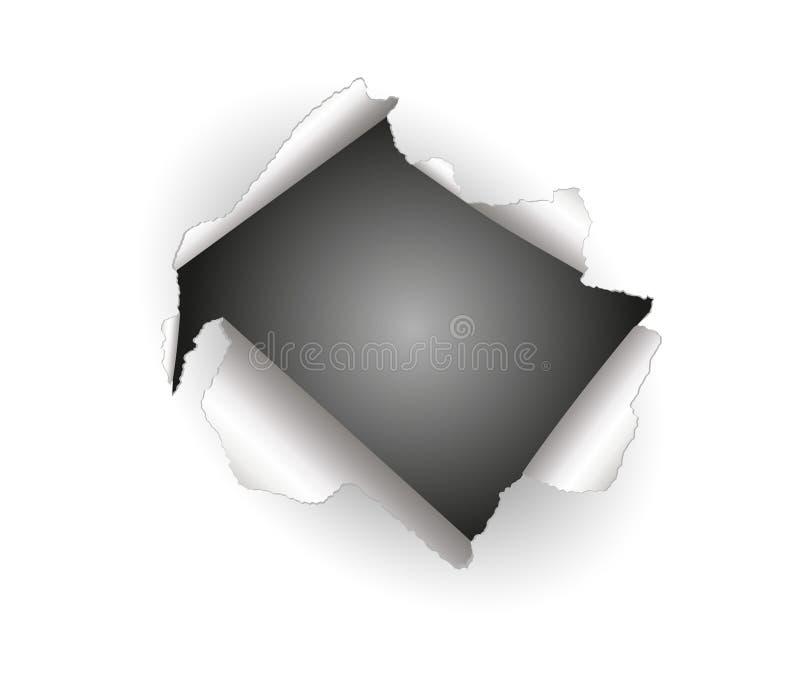 Download έγγραφο τρυπών διανυσματική απεικόνιση. εικονογραφία από arroyos - 17059265