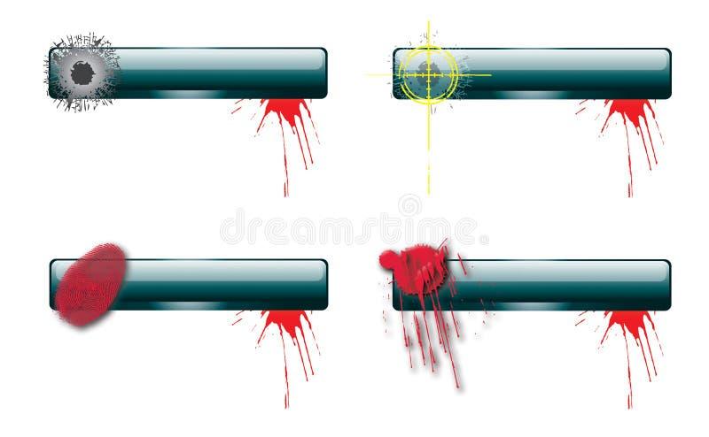 έγκλημα 3 ράβδων nav ελεύθερη απεικόνιση δικαιώματος