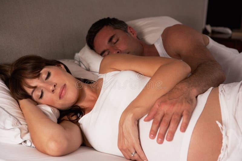έγκυος γυναίκα συζύγων σπορείων στοκ εικόνες
