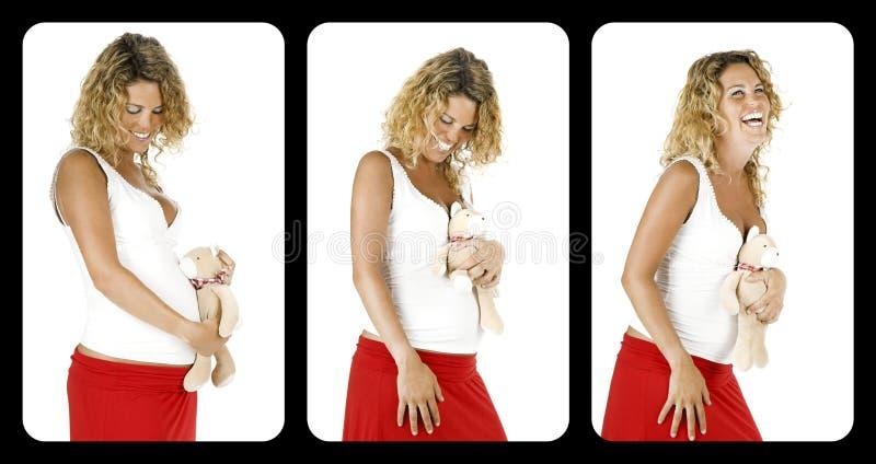 έγκυος γυναίκα στοκ εικόνες