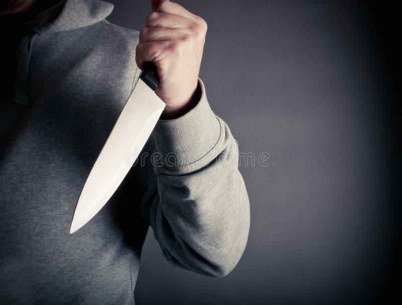 Έγκλημα μαχαιριών στοκ εικόνα