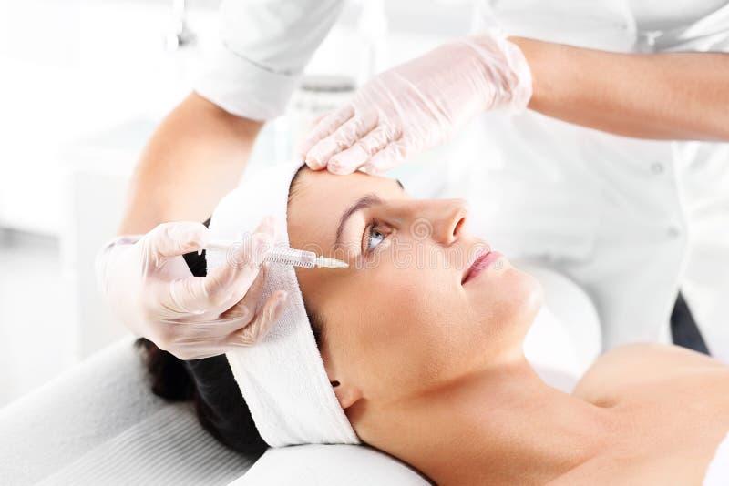 Έγχυση του botox στοκ εικόνα με δικαίωμα ελεύθερης χρήσης