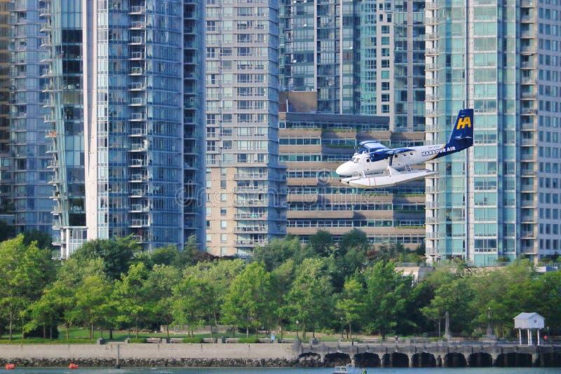 Έδαφος αεροσκαφών πακτώνων στο Βανκούβερ, Καναδάς στοκ φωτογραφίες με δικαίωμα ελεύθερης χρήσης