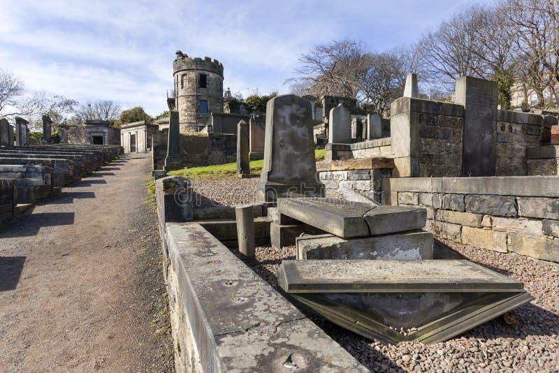 Έδαφος ενταφιασμών του Carlton στο Εδιμβούργο στοκ φωτογραφίες με δικαίωμα ελεύθερης χρήσης
