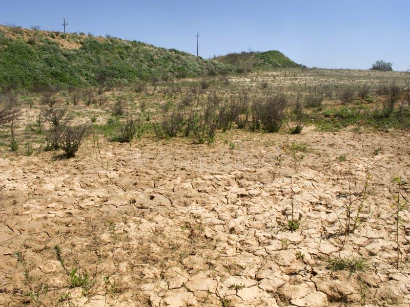 έδαφος ξηρασίας στοκ φωτογραφία