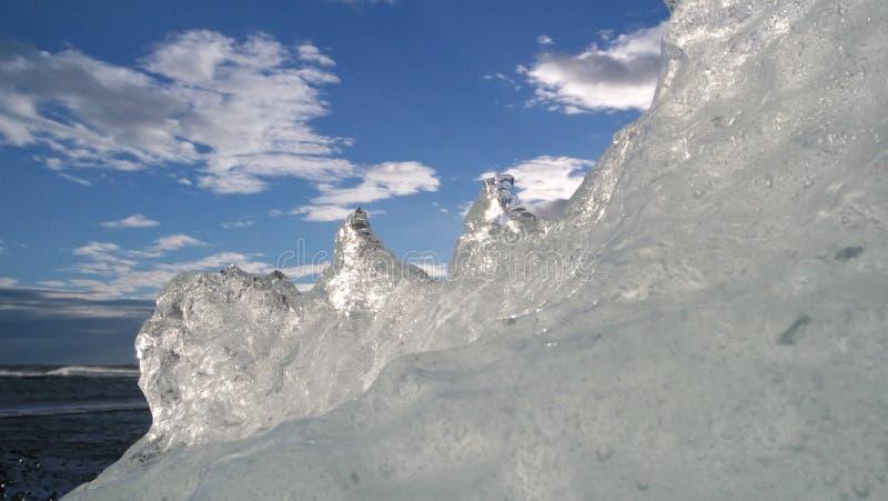 Έδαφος πάγου Scape - Ισλανδία στοκ φωτογραφίες με δικαίωμα ελεύθερης χρήσης