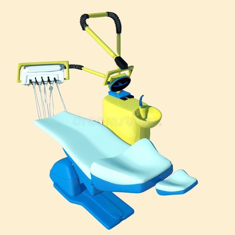 έδρα οδοντική ελεύθερη απεικόνιση δικαιώματος