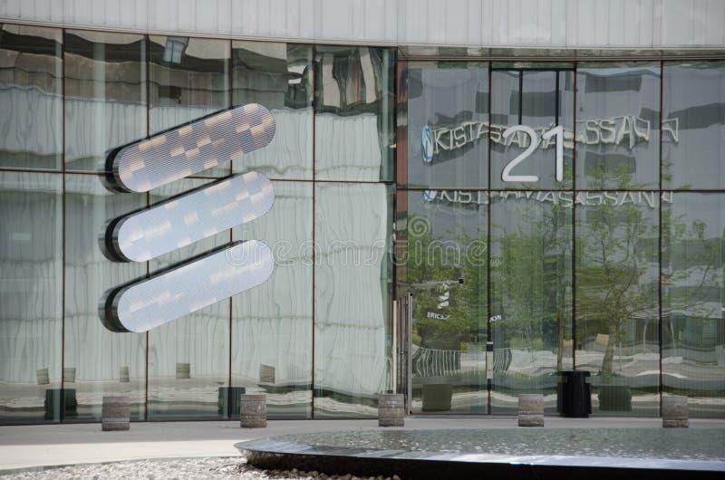 Έδρα της Ericsson σε Kista στοκ εικόνες