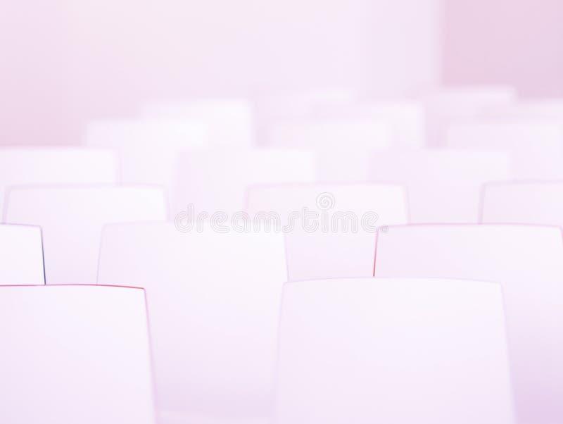 έδρες ελάχιστες στοκ φωτογραφία με δικαίωμα ελεύθερης χρήσης