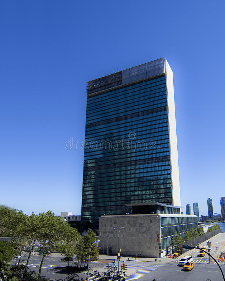 έθνη νέα ενωμένη Υόρκη έδρας στοκ εικόνες