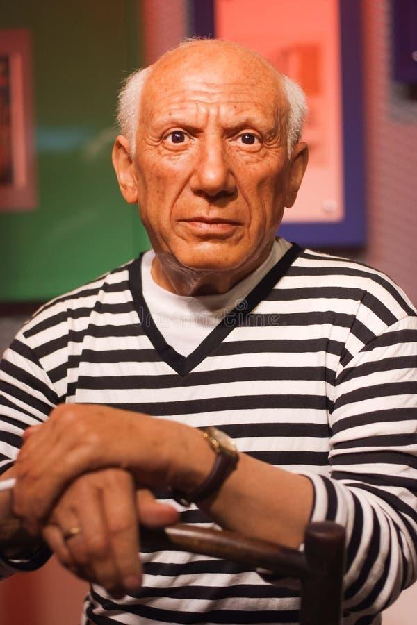 Έκθεμα κηροπλαστικών του Pablo Πικάσο στοκ φωτογραφία με δικαίωμα ελεύθερης χρήσης