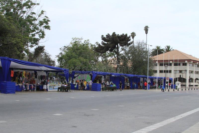 Έκθεση οδών στο Λα Serena Χιλή στοκ εικόνες
