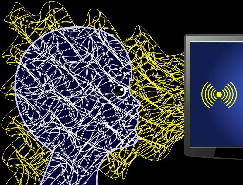 Έκθεση στην ακτινοβολία υπολογιστών απεικόνιση αποθεμάτων