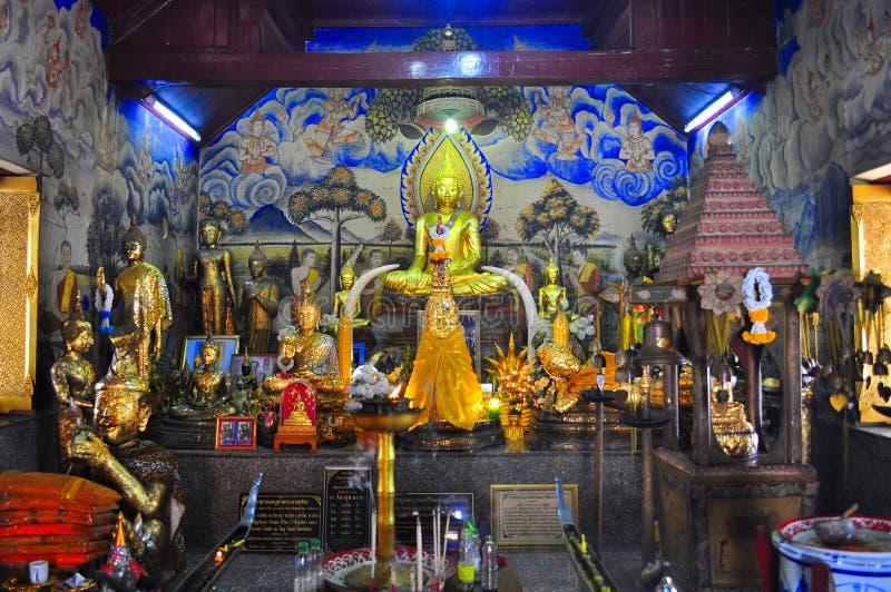 Έκθεση φωτισμού του Βούδα στοκ φωτογραφία με δικαίωμα ελεύθερης χρήσης