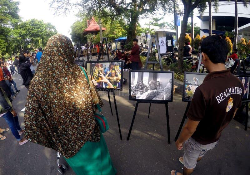 Έκθεση φωτογραφιών στοκ φωτογραφία με δικαίωμα ελεύθερης χρήσης