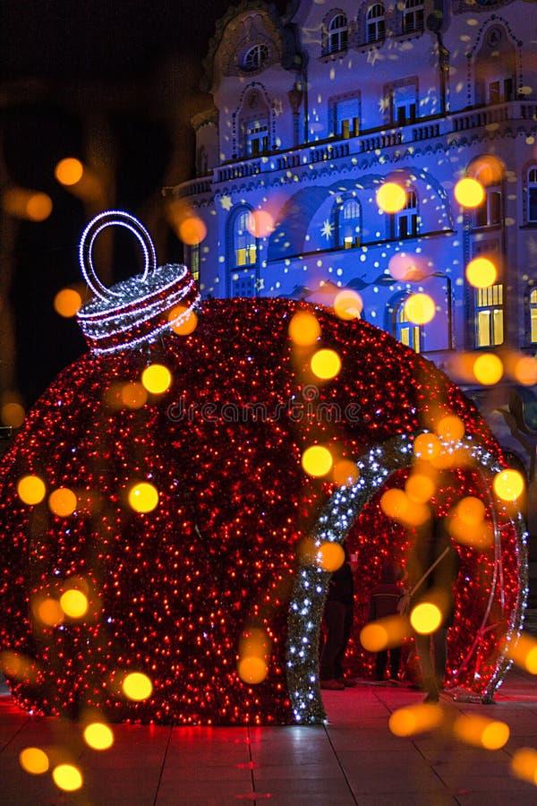 Έκθεση Χριστουγέννων σε Oradea στοκ εικόνες