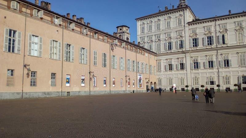 Έκθεση Miro στο Τορίνο στοκ φωτογραφία με δικαίωμα ελεύθερης χρήσης