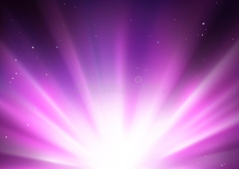Έκρηξη αστεριών απεικόνιση αποθεμάτων
