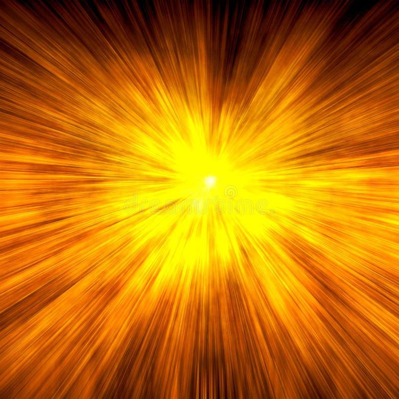 έκρηξη διανυσματική απεικόνιση