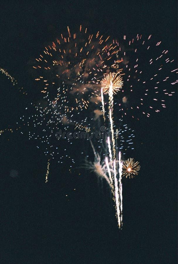έκρηξη firworks στοκ εικόνα με δικαίωμα ελεύθερης χρήσης