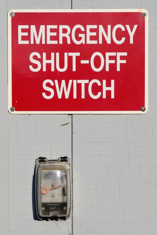 Download έκτακτη ανάγκη κλεισμένη μ&alp Στοκ Εικόνα - εικόνα από προειδοποιήστε, ασφάλεια: 22779015