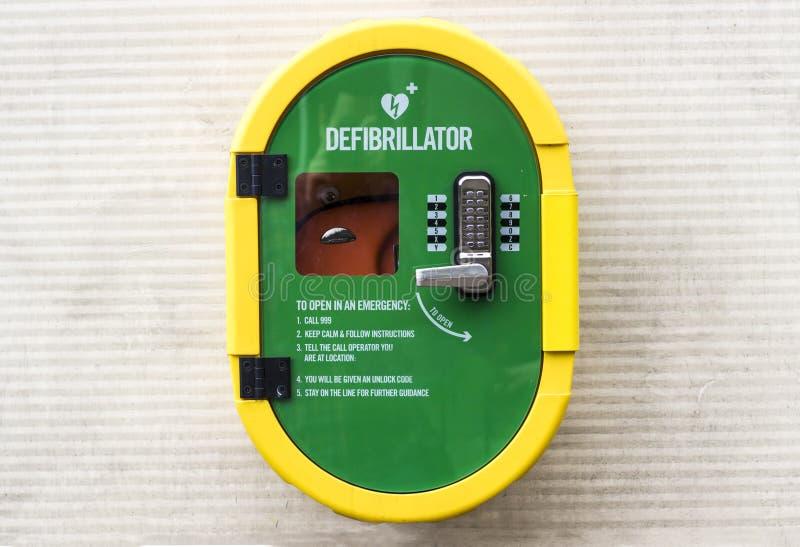 Έκτακτη ανάγκη Defibrillator στοκ φωτογραφίες