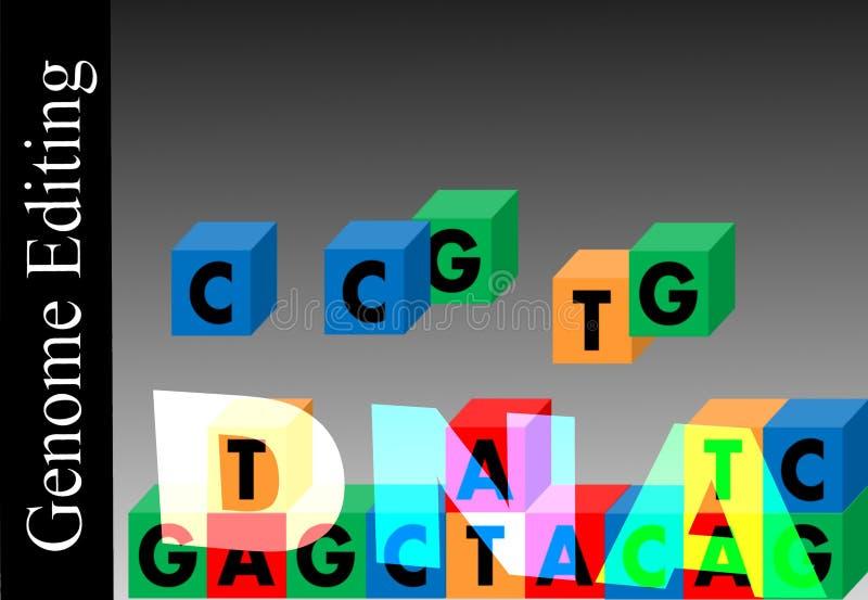 Έκδοση γονιδιώματος ελεύθερη απεικόνιση δικαιώματος