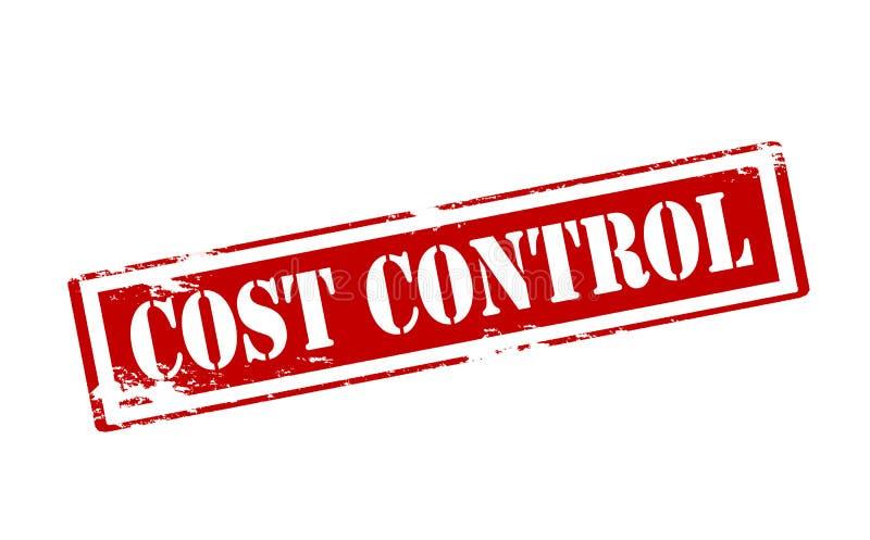 Έλεγχος δαπανών διανυσματική απεικόνιση