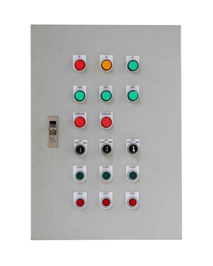 έλεγχος κιβωτίων ηλεκτ&rho στοκ εικόνα με δικαίωμα ελεύθερης χρήσης