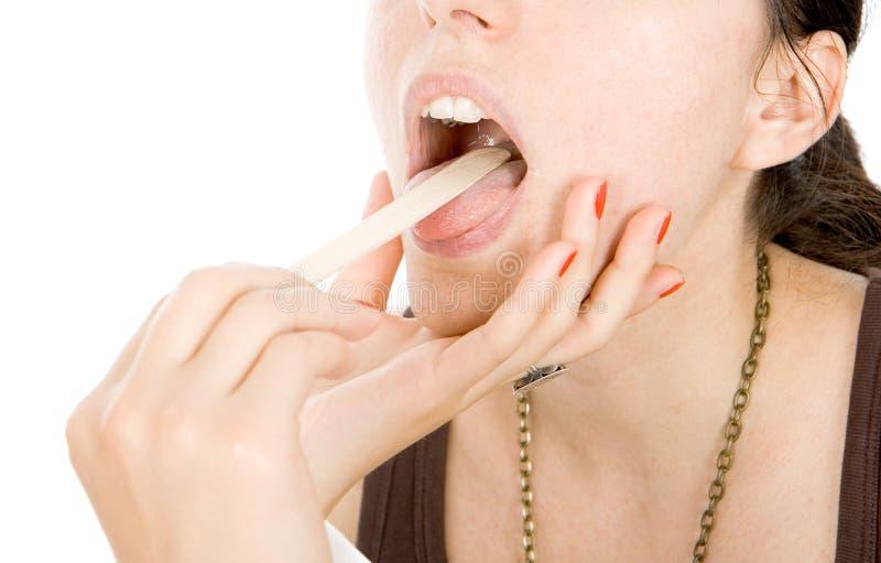 Έλεγχος οδοντιάτρων στοκ εικόνες