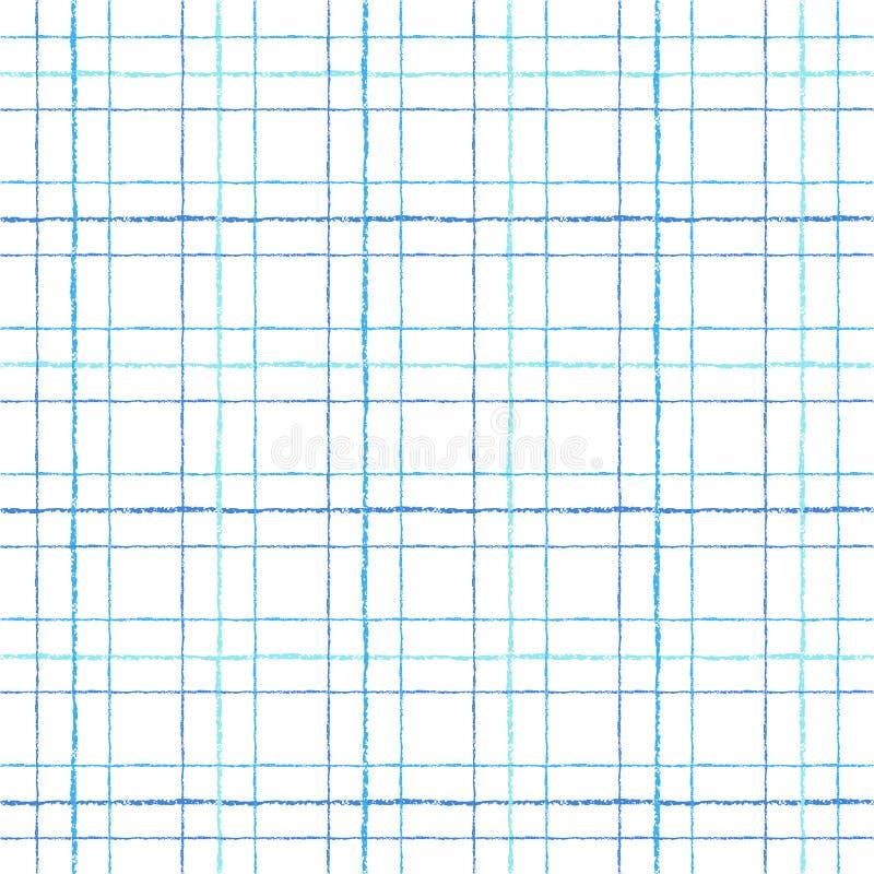 Έλεγχος, τετράγωνο, διανυσματικό ζωηρόχρωμο άνευ ραφής σχέδιο καρό απεικόνιση αποθεμάτων
