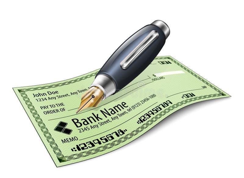 Έλεγχος τράπεζας και μάνδρα πηγών ελεύθερη απεικόνιση δικαιώματος