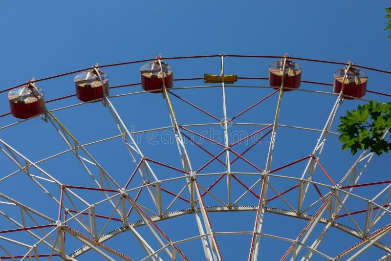 Έλξη ροδών Ferris στοκ φωτογραφία με δικαίωμα ελεύθερης χρήσης